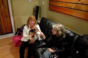 Karen Dinardo, Mila, and Anna
