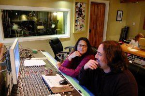 Producer Karen Kane and Engineer Bernie Cisternas