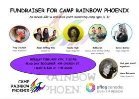 Poster for Camp Rainbow Phoenix Fundraiser FINAL