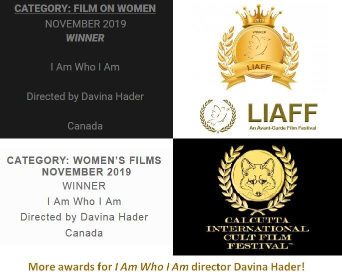 "Davina Hader has won more awards for directing Anna's ""I Am Who I Am (2019 Dance Version)"" music video!"
