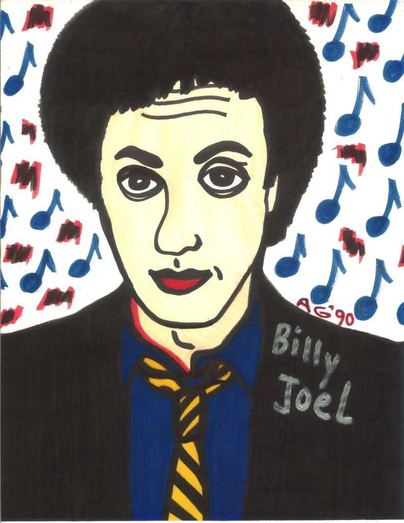 Anna's Portrait of Billy Joel