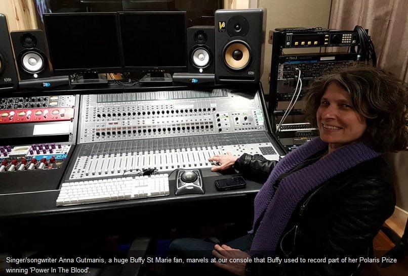 Anna at Buffy SM PITB console at Silverthorn